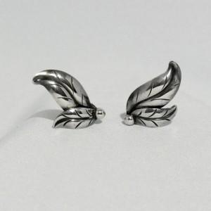 Herman Siersbol HS Denmark sterling 925 silver zilveren clip earrings oorbellen Modernist Scandinavian 1.JPG