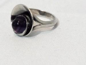 Niels Erik From N.E.From N E From Denmark Denemarken sterling 925 zilveren silver designer ring amethist amethyst b.JPG