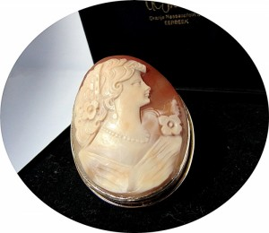 Large vermeil cameo antique old vintage designer high quality hoge kwaliteit oud antiek verguld zilver 1.JPG