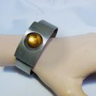 Logeskov Tin Denmark robuuste modernistische vintage spang armband, 70er jaren.