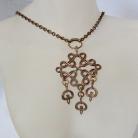 Kalevala Koru Oy, Finland, vintage bronzen designer collier