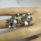 Stuart Nye Amerikaanse sterling zilveren vintage schroef oorbellen