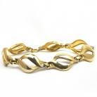 Kordes & Lichtenfels (K&L) vintage Amerik gold plated schakel armband uit de 60er jaren.